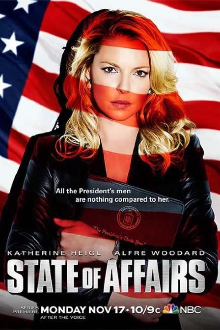 美剧:国事家事 第一季 /State of Affairs Season 1/国家事务 第一季 共13集
