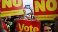 苏格兰55%选民反对独立