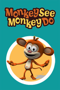 猴子有样学样