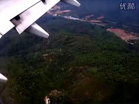 飞机降落过程