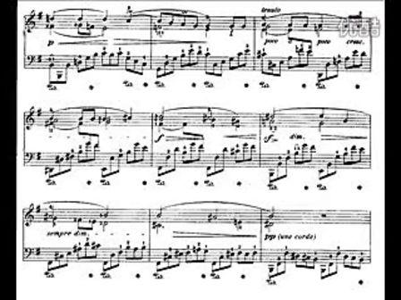 肖邦e小调 夜曲 no. 19