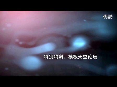 【醉清风制作】会声会影x5模板(金色粒子背景字幕)