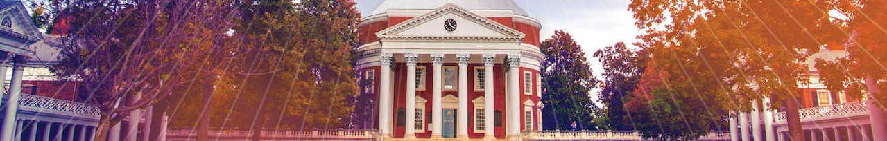 弗吉尼亚大学 banner