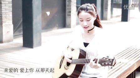 告白气球-周杰伦-潘泽澜cover-吉他尤克里里弹唱