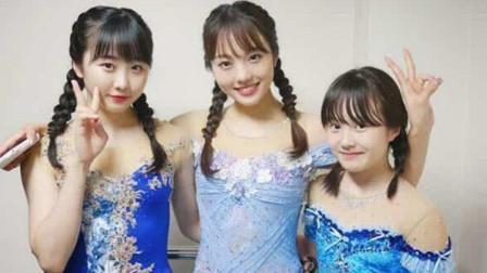 溜冰场上的日本富家三千金!美貌实力出众,他们爷爷年赚20亿