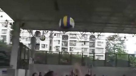 《排球練習》教學課例(九年級體育,育才二中:嚴克非)