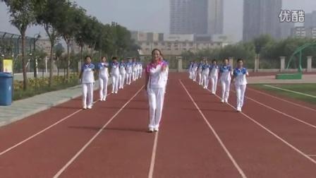 2015佳木斯快乐舞步健身操天津孟孟炫之队