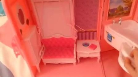 制作芭比娃娃的房子方法2和芭比娃娃的房子2