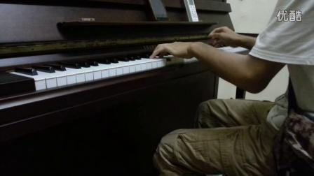 过火 钢琴版 张信哲