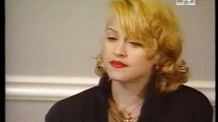 【麥姐在線】麥當娜1992年電影《  》新聞發布會