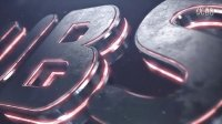 三维霓虹标志展示 Dubstep | Element 3D Logo Reveal AE模板