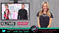 Taylor Swift & Calvin Harris Get Cozy at BRIT Awards!
