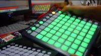唱机骑士DJ器材 novation launchpad S测试_高清