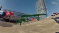 視頻: GoPro HD: BMX Street Course Preview with Jeremiah Smith and Chad Kerley - S...