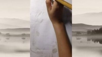 小學三年級美術《水墨畫貓》微課視頻,深圳第三屆微課大賽視頻