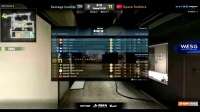 WESG CSGO:SS vs Damage Control BO1 小组赛